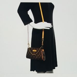 Louis Vuitton monogram Eva clutch